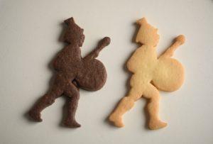祝福の音色を奏でる鼓笛隊の少年「ラ・フェットボーイ」をかたどったクッキー